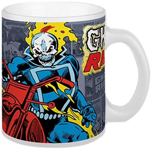 Marvel Semic Distribution - Smug083 - Ameublement Et Décoration - Mug Retro - Série 2 - Ghost Rider