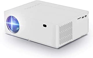 Native 1080p Projector, hmovie Support Full HD Video Projector, 6000 Lux, 8000:1 Contrast Ratio, ±50° Horizontal & Vertica...