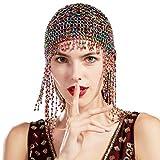 ArtiDeco 1920s Stirnband Damen Gatsby Haar Kette Exotisch Cleopatra Kostüm Accessoires 20er Jahre...