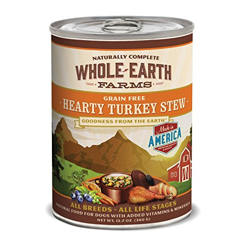 Whole Earth Farms Turkey Stew Can