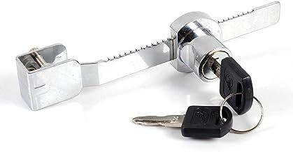 11mm Gabinete de exhibici/ón de Metal Cerradura de Puerta corrediza de Vidrio y Llave Reptil Terrario Vitrina Cerradura y Llave SALAKA 1PC 130mm