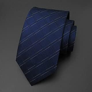Men's Professional Tie Classic Gentleman Tie Leisure and Business Standard Conventional Tie 145 × 9.5cm MSJQQ (Color : E)