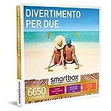 Smartbox - Divertimento per Due - Cofanetto Regalo Coppia, 1 Degustazione o Pausa Relax o Attività di Svago per 2 Persone, Idee Regalo Originale