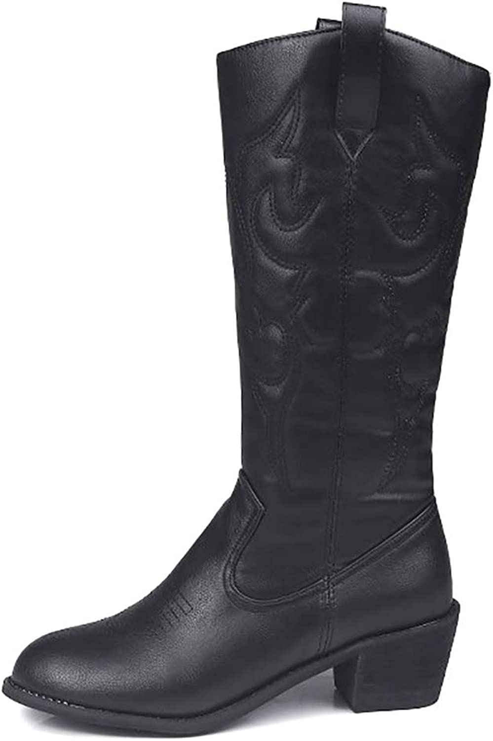 Odema Women's Western Pointed Toe Cowboy Cowgirl Boots