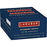 Larabar Fruit and Nut Bars, Blueberry Muffin, 16 ct