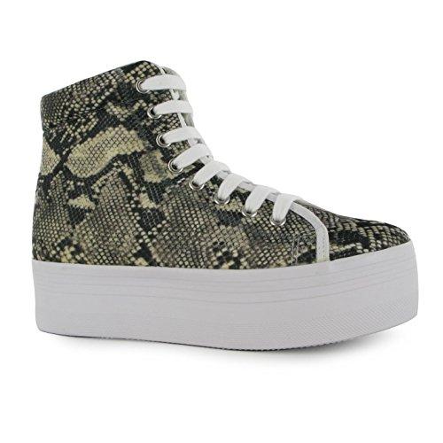 Jeffrey Campbell, Sneaker donna Grey/Beige