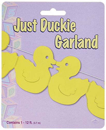 Just Duckie Garland Party Accessory (1 count) (1/Pkg)