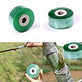 FADACAI 1 Stück Pfropfen Klebeband dehnbar selbstklebend für Gartenbaum Sämling, 2cm * 100m