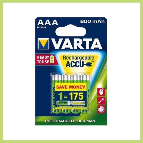 4x VARTA Batterie Akku Ready2Use MICRO AAA 1,2 V HR03 800mAh