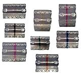 Blister per monete euro - Kit 160 blister portamonete tagli assortiti (20 pezzi per taglio...