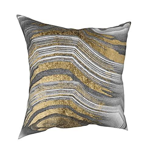 Fundas de almohada decorativas de pintura abstracta moderna cuadrada fundas de cojín para habitación, sofá, silla, coche, 50,8 x 50,8 cm
