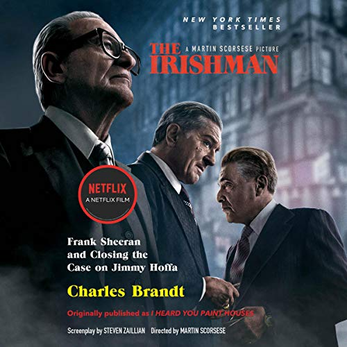 The Irishman (Movie Tie-In) audiobook cover art