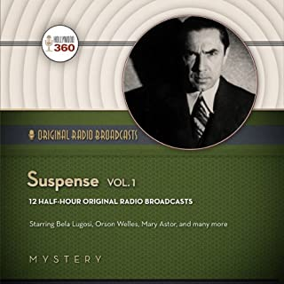Suspense audiobook cover art