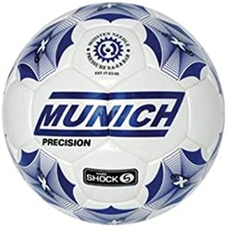 Munich Balón Fútbol Sala Precision Sala, Color Blanco/Azul Royal