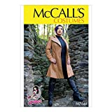 McCall's Patterns Leather Jacket Cosplay Costume Sewing Pattern for Women by Yaya Han, Sizes 6-14