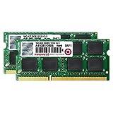 Transcend ノートPC用メモリ PC3-10600 DDR3 1333 16GB 1.5V 204pin SO-DIMM Kit (8GB×2pcs) (無期限保証) JM1333KSH-16GK