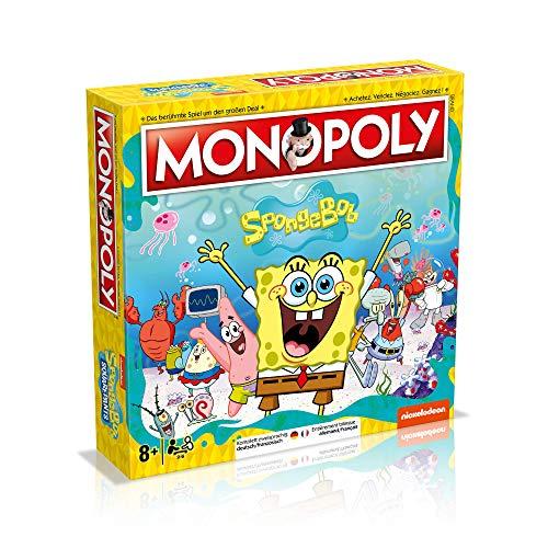 Winning Moves Monopoly Spongebob Schwammkopf Deutsch Französisch Edition Spiel Brettspiel