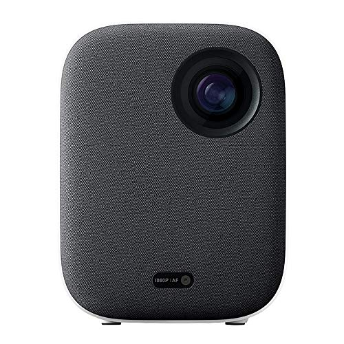 Xiaomi Mi Smart Compact Projector 1080P Full HD Resolution, Portable Home Theater Projector, Average 500 ANSI lumens, Totally Sealed Optical System, Large Integrated Sound Chamber