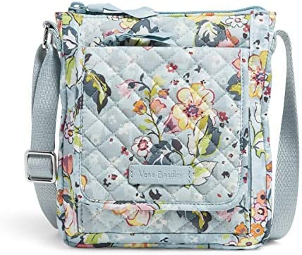 Vera Bradley Signature Cotton Mini Hipster Crossbody Purse with RFID Protection Floating Garden product image