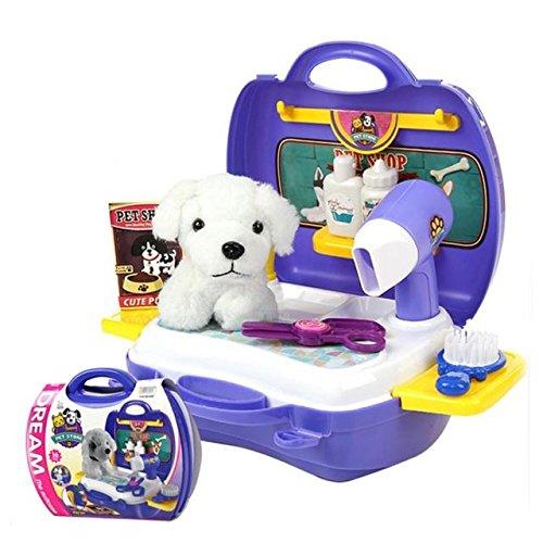 ABBY Enfant Fille Jeux de Rôle Simulation Boîte à Outils Portables Jouets Educatifs Jouent Maison