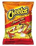 Cheetos Cheese Snacks, Crunchy, Flaming Hot, 3.25...
