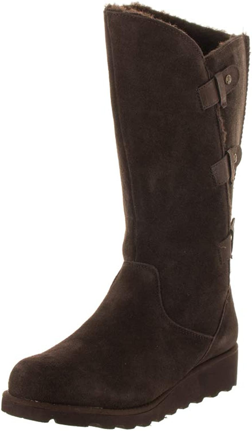 Bearpaw Womens Rubber Closed Toe Knee High Fashion Boots