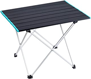 Cocosmart folding table Folding Camping Table Portable Ultralight Aluminum Table with Storage Bag for Outdoor, Camping, Pi...