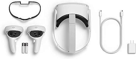 Oculus Quest 2 VR - Virtual Reality headset. Spelheadset i senaste generationen. Vit (64 GB)