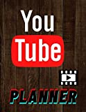 YouTube Planner: Logbook Youtuber Gifts for Youtubers - Video Planner Checklist , Vlogger Planner YouTube Online Entrepreneurs Logbook/ Content ... Youtuber Pad Planner tips For YouTubers