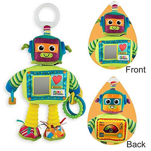 Juguete espiral de actividad del bebé para el asiento del coche, cochecito de bebé, cuna, actividad de la cama (ROBOT)