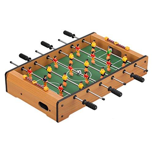 """Virhuck Foosball 19in, Tischfußballspiel, Mini Tischplatte Tischkicker , Indoor & Outdoor Tisch Fußball Spiel Set für Kinder (19"""" Football)"""