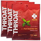Redd Remedies - Throat Drops, Herbal Cough Suppressant to Soothe and...