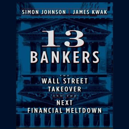 13 Bankers audiobook cover art