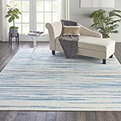 Easy spot cleaning and maintenance Ideal for use in rooms with moderate foot traffic Made out of easy-care fibers Low pile construction Rug pad recommended