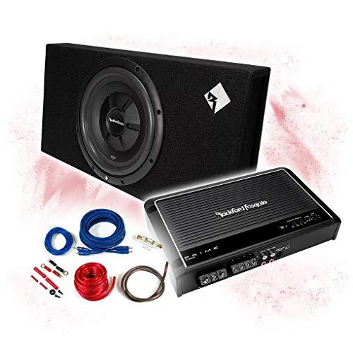 ROCKFORD FOSGATE - Amplificador de 2 canales + subwoofer de 30 cm...