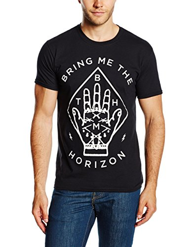 Bring Me The Horizon Herren Diamond Hand T-Shirt, Schwarz, XXL