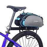 Lixada Fahrradtaschen Gepäckträger Wasserdicht Sitz Multifunktionale Tasche MTB Rennrad Rack
