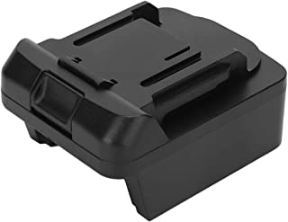 Battery Adapter, Adapter for Milwaukee M18 Li‑ion Battery to for Makita 18V BL1830 BL1840 BL1850 BL1860 Li‑Ion Battery, wi...