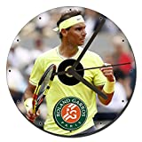Rafa Nadal Roland Garros Reloj CD Clock 12cm
