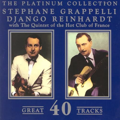 The Quintet Of The Hot Club Of France, Django Reinhardt & Stephane Grappell