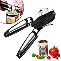Apsung Can Opener, Manual Can Opener, ,Ergonomic and Easy to Use, with Large Turn Knob ,Food Grade Stainless Steel...