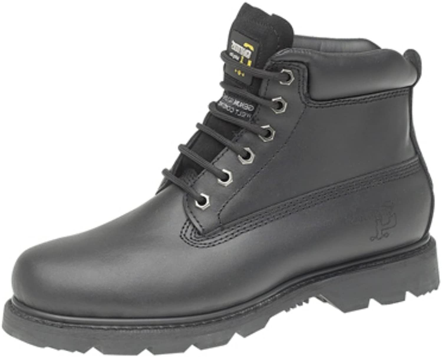 GRAFTERS 6 EYE PADDED WORK BOOT
