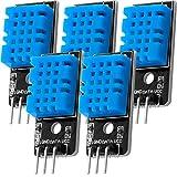 AZDelivery 5 x KY-015 Módulo del sensor de temperatura DHT11 con eBook incluido