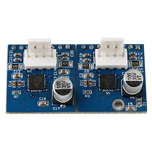 Ixkbiced Dual Driver Channel Expansion Module with TMC2224 Stepper for Duet 2 3D Printer