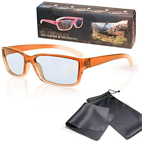 Gafas 3D para niños pasivo para RealD - Anaranjado-transparente - Polarizadas circular...