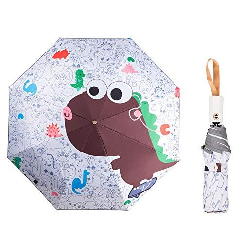 Parasol Parapluie Parapluies Automatiques Anti-UV Parapluie Pliant Anti-Pluie Sun Rainy Réfléchissant Bande Parapluie Parasol Yd200012C