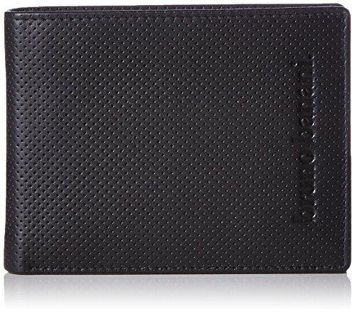 Bruno Banani POLO_2 W 320.2067_schwarz Herren Geldbörsen 12x10x2 cm (B x H x T), Schwarz (schwarz)