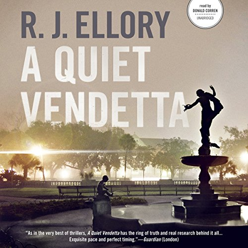 A Quiet Vendetta audiobook cover art