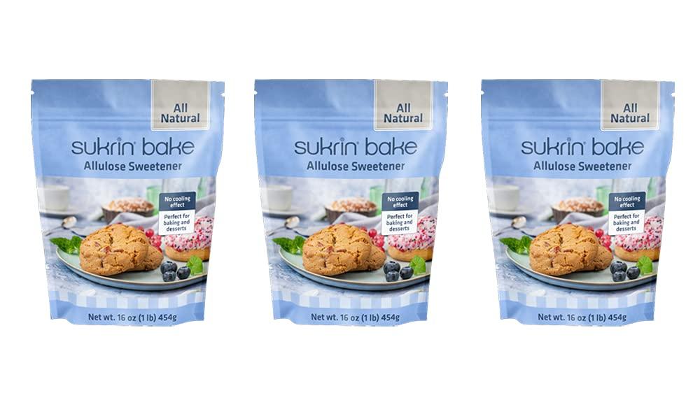 Sukrin Allulose Sweetener - Natural Sugar Max 64% OFF Alternative Keto Fri Sacramento Mall