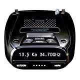 Uniden DFR7 Super Long Range Wide Band Laser/Radar Detector, Built-in GPS w/Mute...